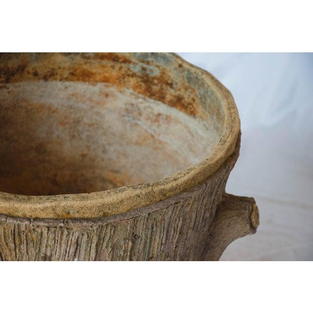 Mid 20th Century Faux Bois Planter For Sale - Image 9 of 13
