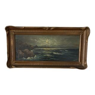Vintage California Plein Air Landscape Oil Painting For Sale