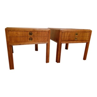 Drexel Accolade Side Tables - A Pair