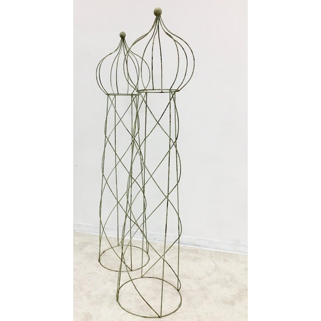 Trellis Topiary 8 ' Tall - Set of 2 For Sale In Atlanta - Image 6 of 6