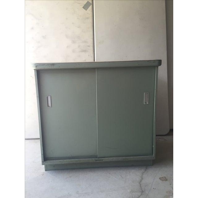 1950s Steel Case Cabinet - Image 2 of 5