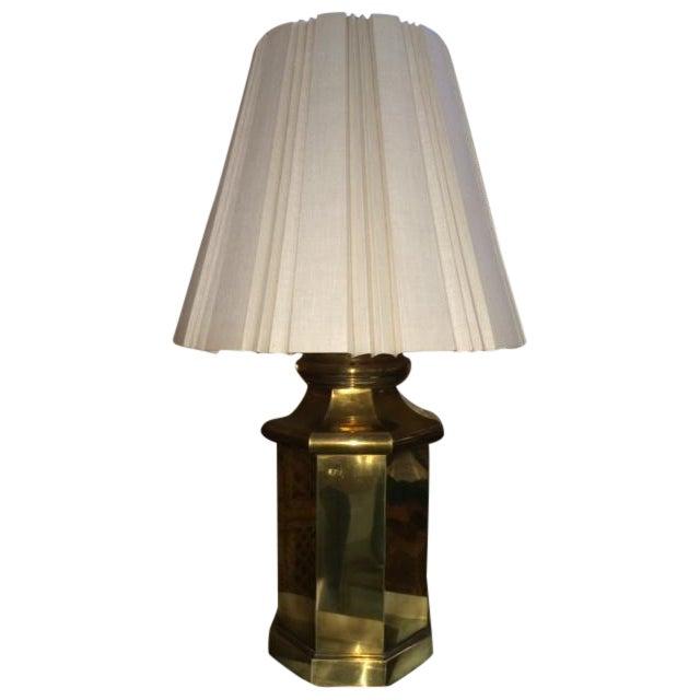 Vintage Large Brass Lamp - Image 1 of 5