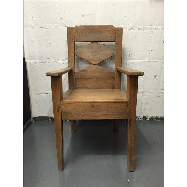 Mango Wood Indonesian Chair - Image 2 of 5
