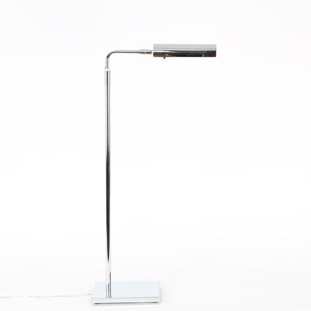 Mid-Century Modern 1970's VINTAGE KOCH & LOWY ADJUSTABLE CHROME FLOOR LAMP For Sale - Image 3 of 8