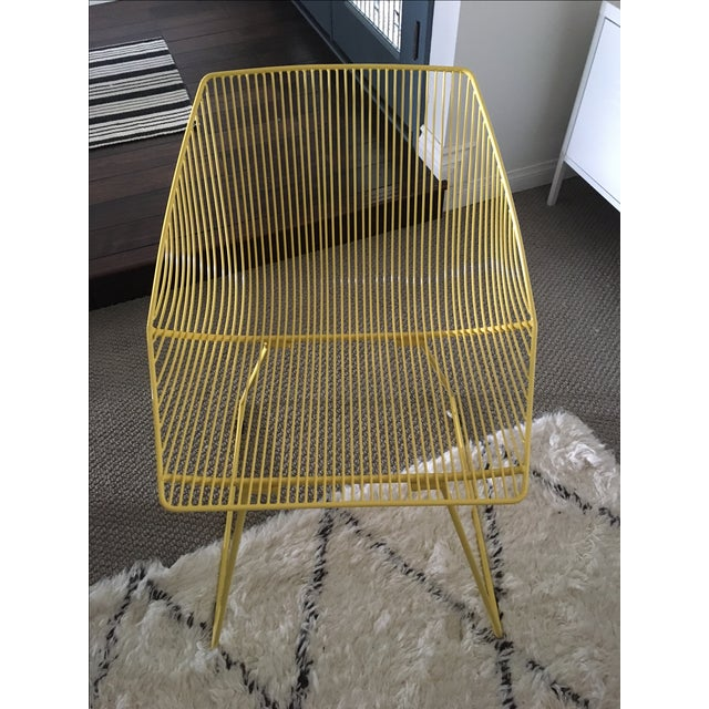 Bend Goods Yellow Bunny Chair - Image 2 of 3