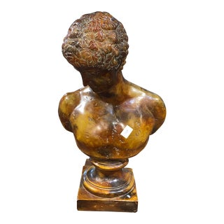 Greek God Hermes Bust For Sale