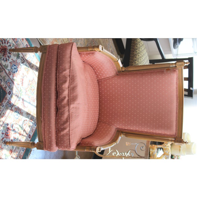 Vintage Salmon Armchairs - A Pair - Image 8 of 8