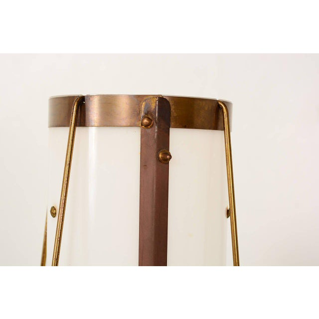 1970s Brass & Acrylic Table Lamp For Sale - Image 5 of 7