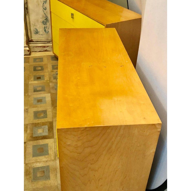 Pair of Founders Mid-Century Modern Bachelors Chests or Nightstands or Commodes For Sale - Image 9 of 13