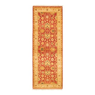 Classic Hand-Knotted Runner For Sale