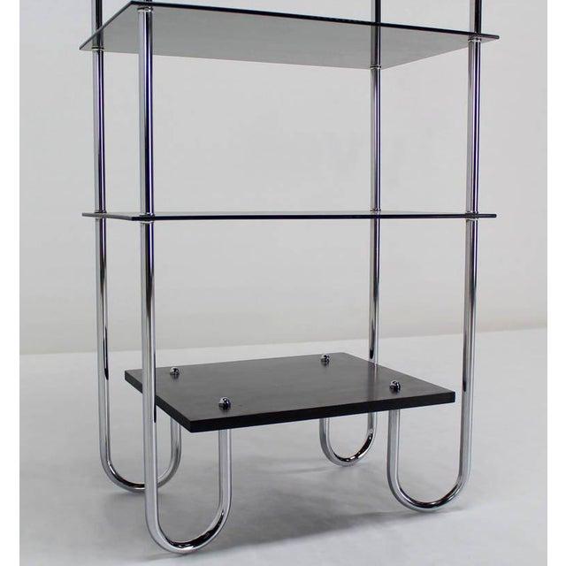 Bauhaus Midcentury Bauhaus Style Etagere For Sale - Image 3 of 10