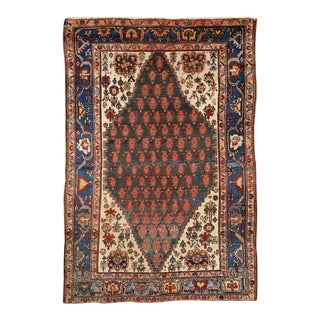 Antique Persian Malayer Rug with Modern Traditional Style