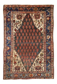 Image of Asian Antique Traditional Handmade Rugs