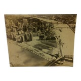 """Image of Vintage Black & White Photograph """"Pittsburgh Point State Park"""" Circa 1950 For Sale"""