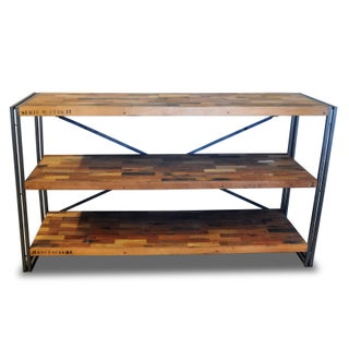 Wooden Salvaged Console Shelf from Bali