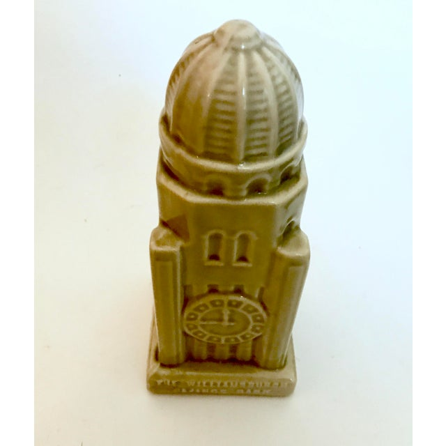 1954 Americana Williamsburg Bank Commemorative Coin Bank For Sale - Image 4 of 11