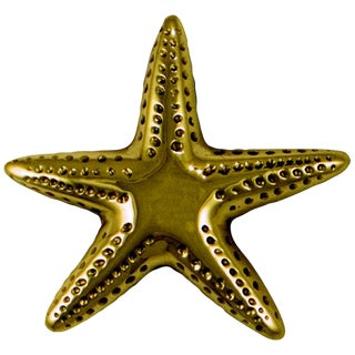 Starfish Brass Doorbell For Sale
