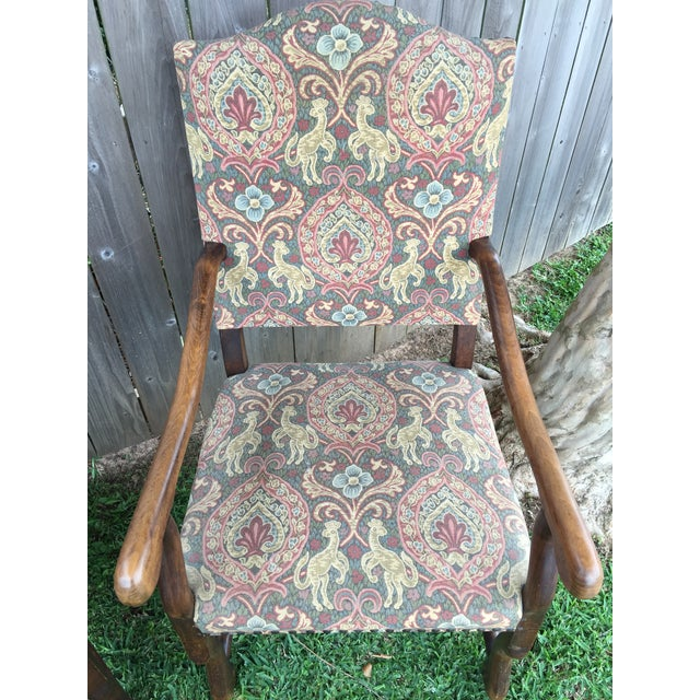 """A pair of 19th Century French solid oak """"Os De Mouton"""" chairs. this pair of chairs have all the attributes you could ever..."""