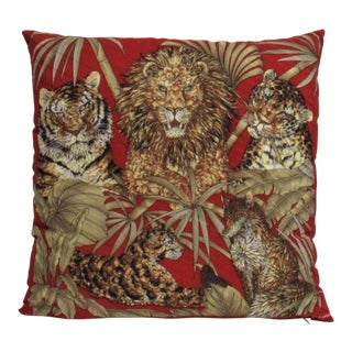 Salvatore Ferragamo Decorative Pillow For Sale