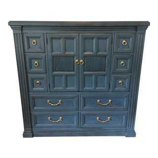 Drexel Heritage Blue Armoire