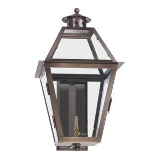 Lantern & Scroll Charleston Wall Mount Gas Lantern For Sale