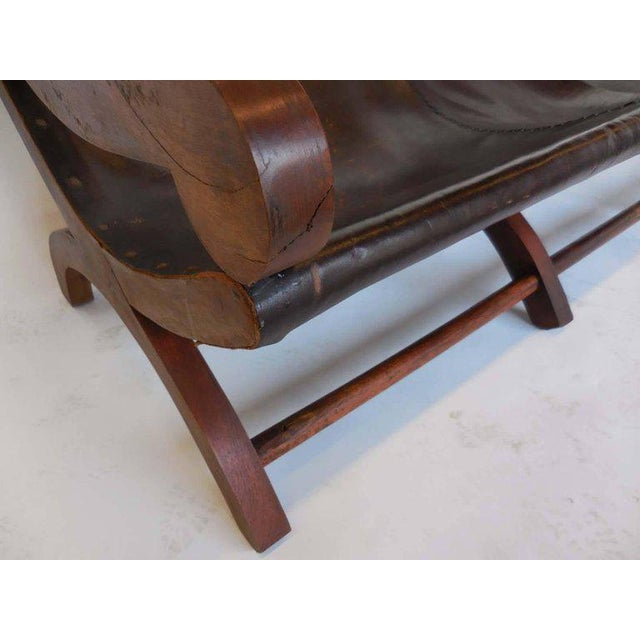 Leather Butaca Sofas - Image 3 of 9