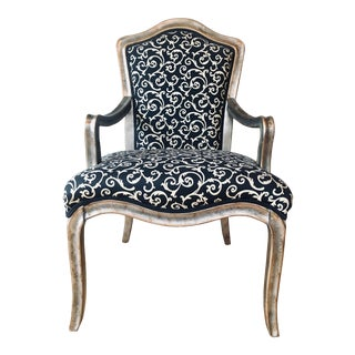 Whimsical French Armchair For Sale