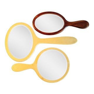 Vintage Hand Mirrors - Set of 3 For Sale