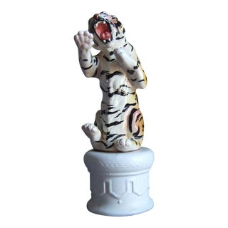 Vintage Famous First Circus Tiger For Sale