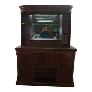 Howard Miller Cherry Bar or Sideboard For Sale