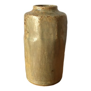 Glazed Bud/Floral Vase For Sale
