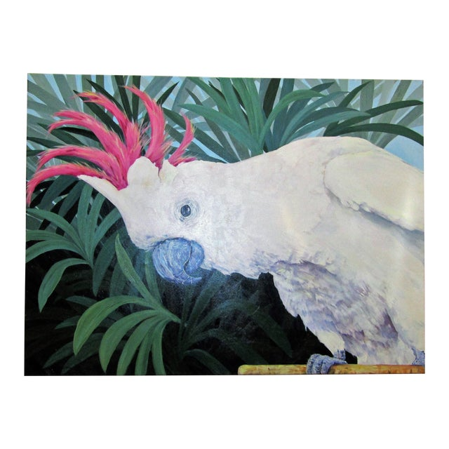 Large Original Cockatoo Painting - Image 1 of 5