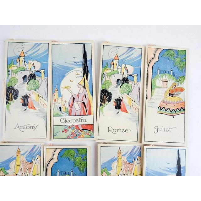 Box Set 1920's Vintage Romance Series Bridge Tally Cards For Sale - Image 4 of 7