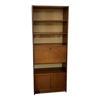 American of Martinsville Shelf With Desk For Sale