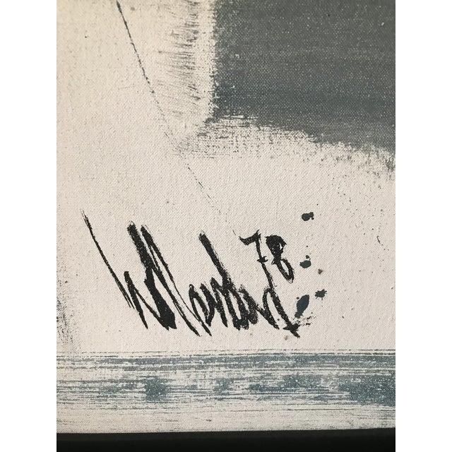 Signed Gino Hollander Original Acrylic Painting - Image 3 of 11
