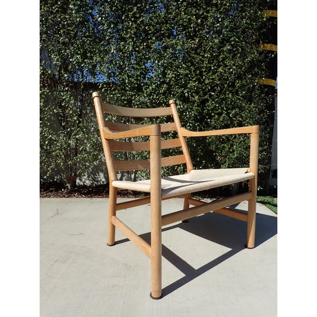 carl hansen sons hans wegner ch44 easy chair chairish