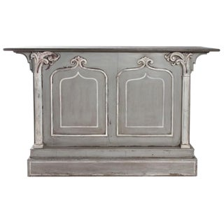 CARVED FRENCH BAR For Sale