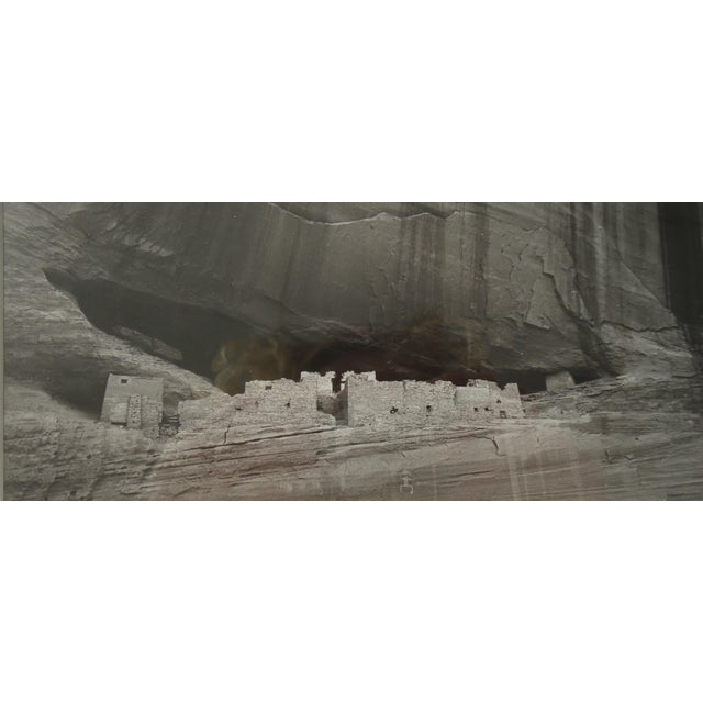 Contemporary 1980s Contemporary Photography of Canyon De Chelly White House Ruins by S Brian For Sale - Image 3 of 6