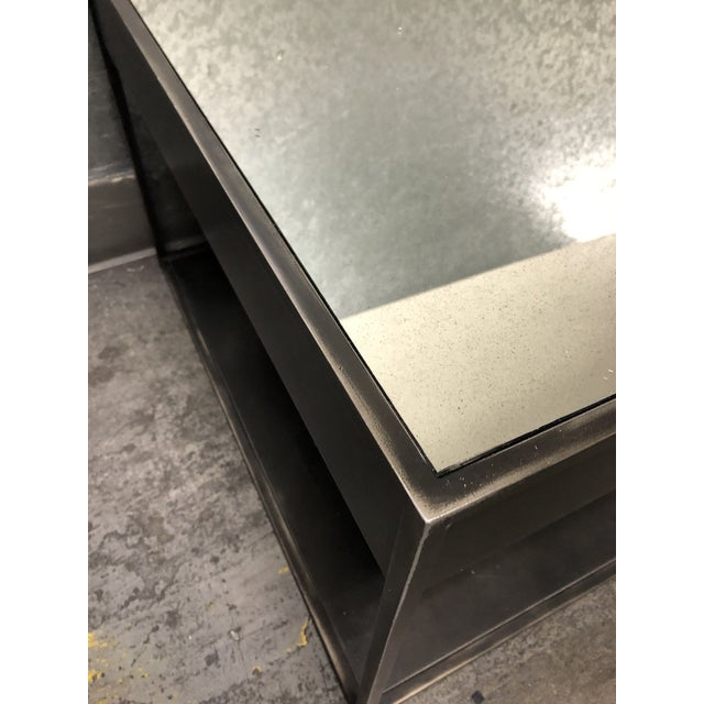 Restoration Hardware Restoration Hardware Gramercy Narrow Coffee Table With Drawers For Sale - Image 4 of 10
