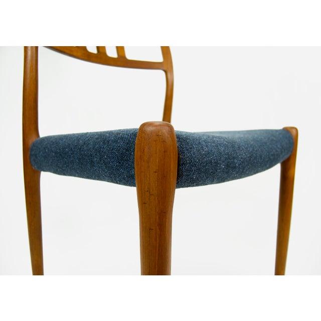 Niels O. Møller Teak Model 79 Dining Chairs - Set of 4 For Sale - Image 9 of 12