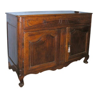 French Walnut Buffet For Sale