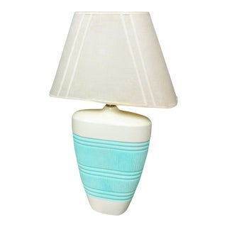 Mid-Century Modern Ceramic Table Lamps - a Pair For Sale