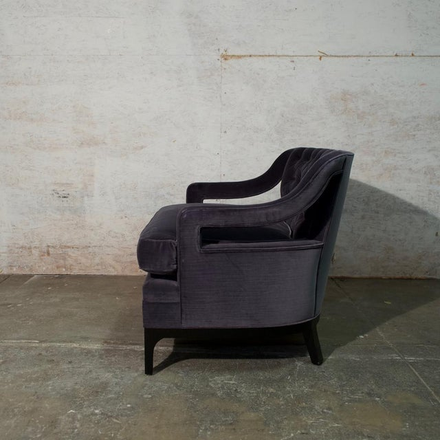 Hollywood Regency 1960's Diskin Art Club Chair For Sale - Image 3 of 6