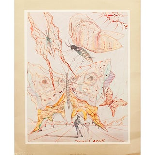 1953 Dali, Fruits Original Period Lithograph From the Mrs. Albert D. Lasker Collection For Sale