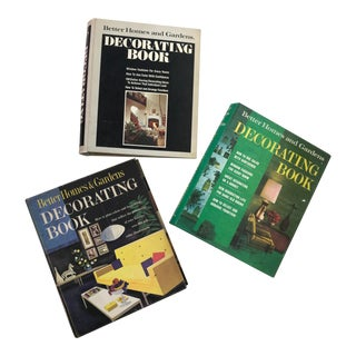 Mid Century Decorating Books - Set of 3 For Sale