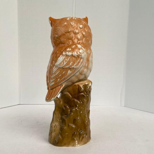 Mid 20th Century Vintage Mid 20th Century Owl Figurine For Sale - Image 5 of 13