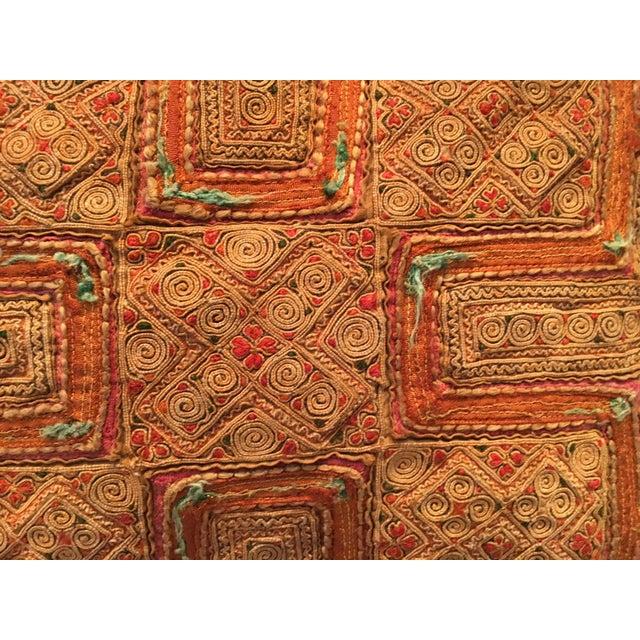 Vintage Thai Applique Pillow - Image 4 of 5