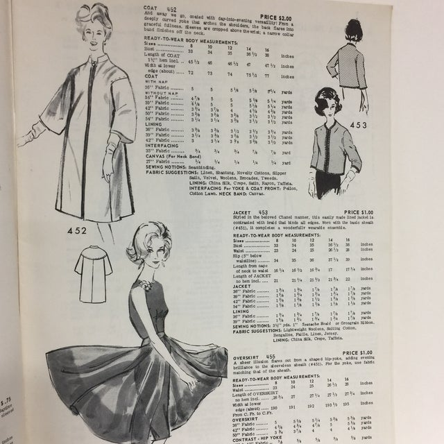 "Spadea ""Dinah Shore's Wonder Wardrobe"" Vintage Dress Pattern For Sale - Image 4 of 9"