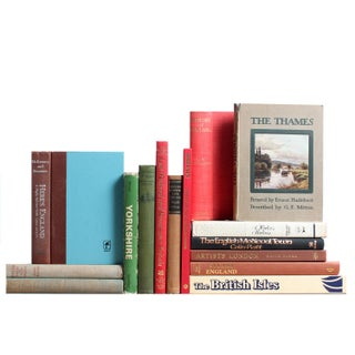 Vintage Travel Books: The British Tour - Set of 16