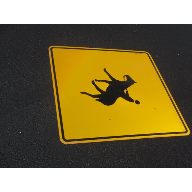 Industrial Road Caution Sign for Horse Riders - Image 3 of 5